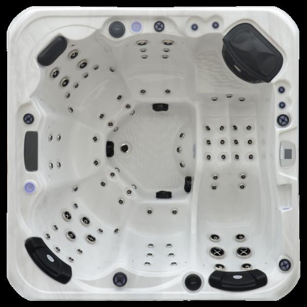 Platinum Spas Infinity Hot Tub - Aerial View