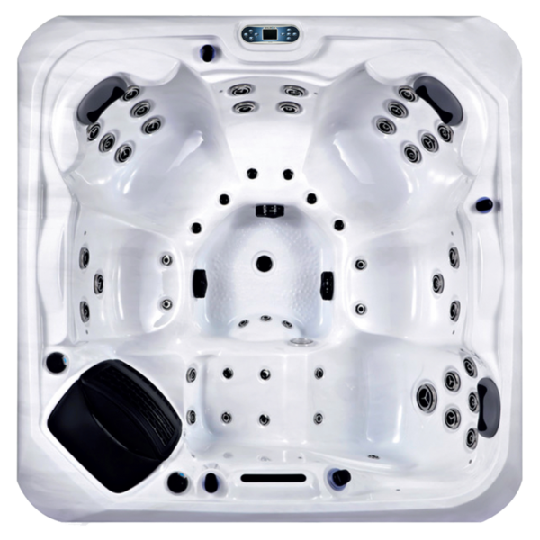 Platinum Spas Santorini Hot Tub (White)