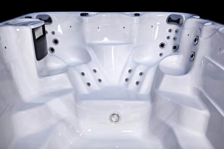 Platinum Spas Ares Swim Spa (White) - Seats