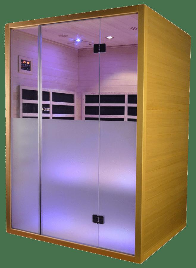 calor 2 person sauna