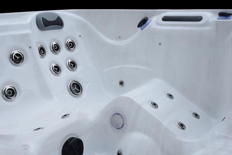 Platinum Spas Santorini Hot Tub - Interior Jets