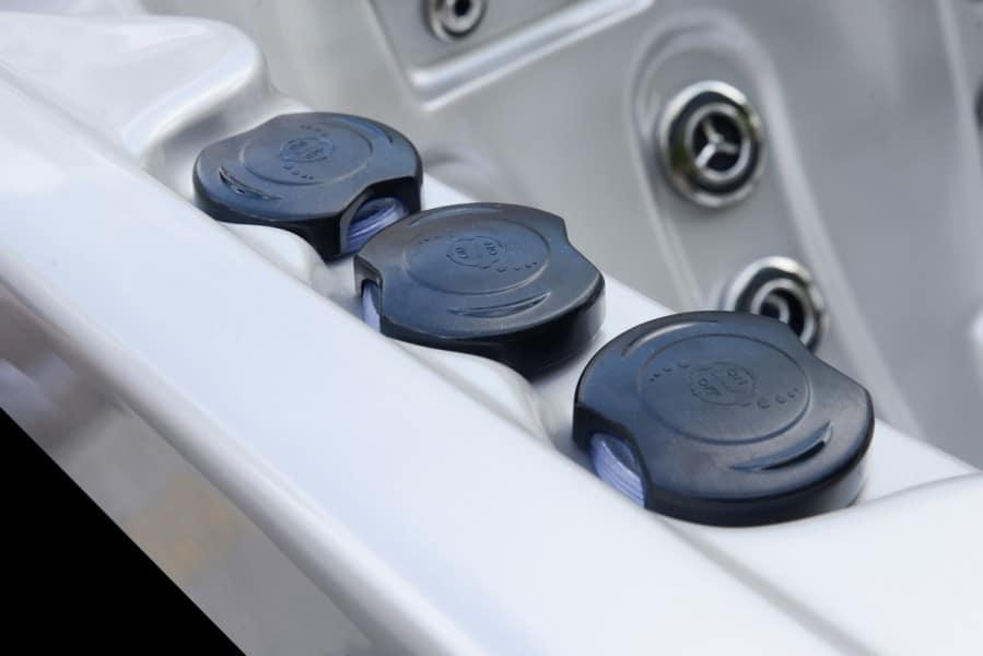 Platinum Spas Onyx Hot Tub - Valves