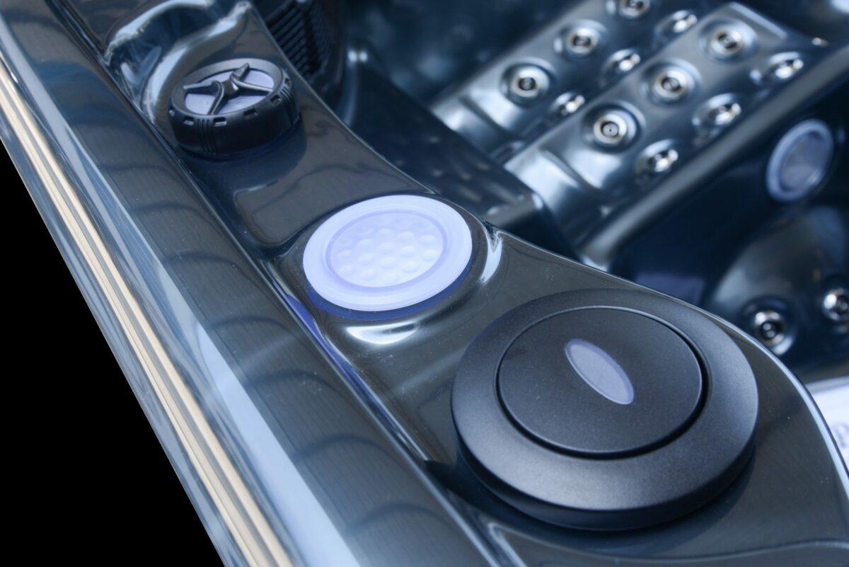 Platinum Spas Infinity Hot Tub - Detail