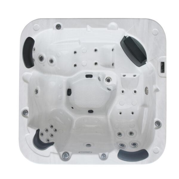 Leo 5 Person Hot Tub - Bottom