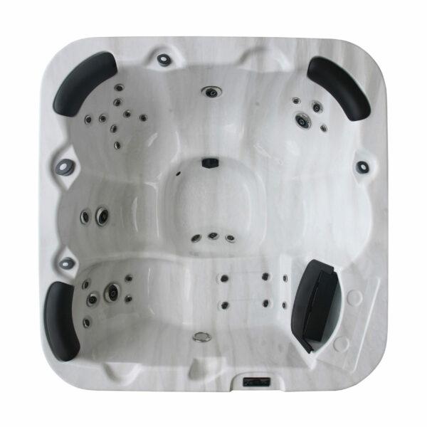 Lynx 6 person hot tub - Aerial View