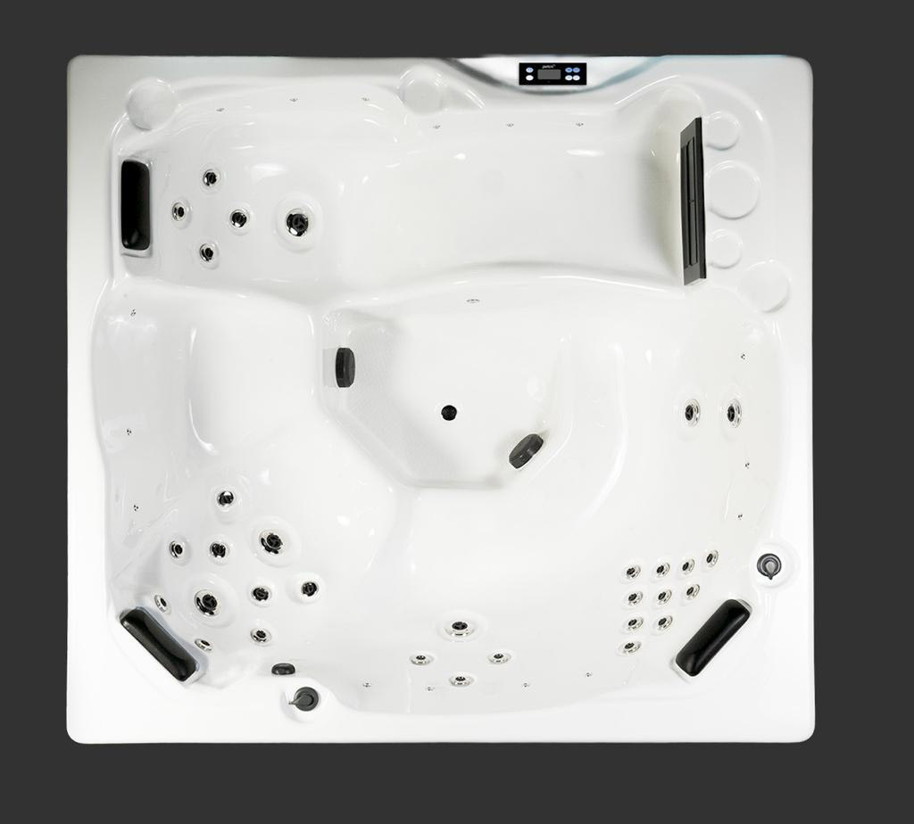 Pisces Hot Tub - Aerial View