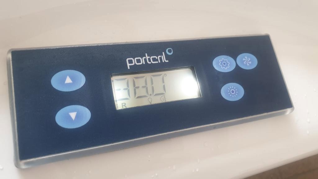 Pisces Hot Tub - Controls