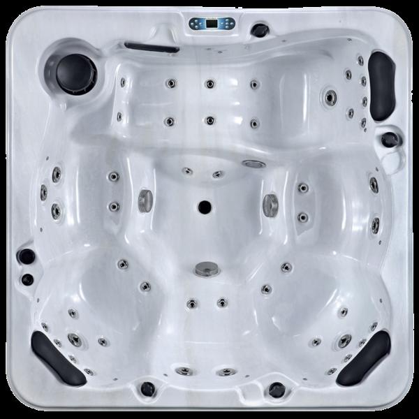 Platinum Spas Refresh Hot Tub (White) - Aerial View