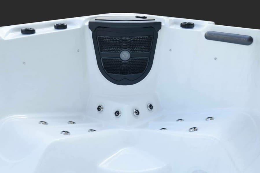 Platinum Spas Trident Hot Tub - Interior
